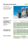 Model 642 Series - Control Gate Valve Brochure