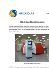 ASLE - Model 11 - Laser Edge Deletion System Brochure