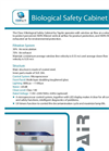 TopAir - Class II - Biological Safety Cabinets Datasheet