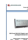 Woodward - 2301D - Load Sharing and Speed Control Brochure