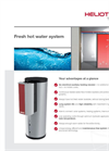 Heliotherm - Fresh Hot Water System - Brochure