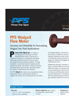 Model PFS WedgeX - Wedge Type Flow Meter Brochure