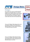 Model PFS-WedgeX - Wedge Meter Brochure