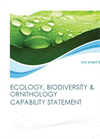 Ecology Services Datasheet