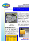 PEWE OWS Oil/Water Separator Brochure