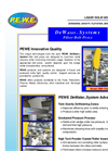 PEWE DeWater Systems Belt Filter Press Brochure