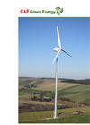 Model CF 25 - Radial Generator Wind Turbine Brochure