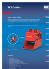 Model RDC Series - Crusher Bucket Brochure