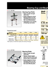 Enerpac - Model BHP-Series - Bearing Cup Pullers - Brochure