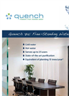 Quench - 715 - Sleek and Compact Low-Capacity Filtered Water Cooler – Brochure