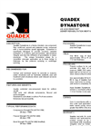 Quadex Dynastone Technical Data Sheet