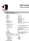 Quadex QM-1s Restore MSDS Sheet