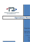 Randolph - Pump Series: 250 - Operations Manual