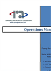Randolph - Model 880-PHO & 880-PH4 - Peristaltic Pump Operations Manual