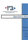 Randolph - Model 610-3XX-X - Peristaltic Pump Operations Manual