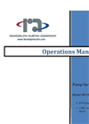 Randolph - Model 610-450 - Peristaltic Pump Operations Manual