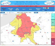 airTEXT air quality alerts for Riga