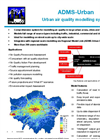 ADMS-Urban Pollution Model – Brochure