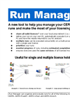 Run Manager - Brochure