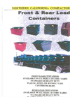 Front & Rear Load Containers Brochure