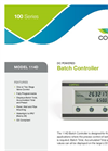 Contrec - Model 114D - Frequency/Pulse Input Batch Controller Brochure