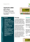 Contrec - Model 515 – BR01 - Batching Ratio Controller Brochure