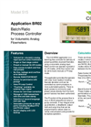 Contrec - Model 515 – BR02 - Analogue Input Batch/Ratio Controller- Brochure