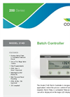 Contrec - Model 214D - Pulse/Frequency Input ATEX Batch Controller Brochure