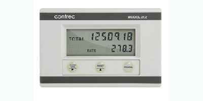 Contrec - Model 202A - Analogue Input Rate Totaliser