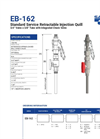 Model EB-162 - Retractable Injection Valve Brochure