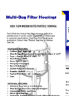 Multi Bag Filter Housings Systems (EMBF) Brochure