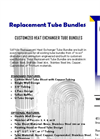 Replacement Heat Exchanger Tube Bundles Brochure