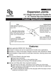 Model 611 - Single End Expansion Joints Specifications