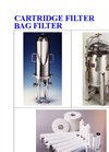 Cartridge Filter Single Bag (S4,S8), Multi-Bag (MX)