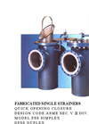 Fabricated Single Strainers