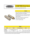 Model IP69K - M25U Series - Stainless Steel Ultrasonic Sensors Brochure