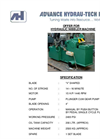 Hydraulic Nibbler Specification