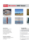 Model 80m XHD - Wind Resource Assessment Systems Brochure