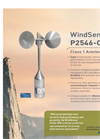 WindSensor - Model P2546-OPR - Anemometer Brochure