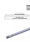 Model T6, T10, T17, T/G20, T/G30, T/G40 - Homogenizer Tool  - Instructions Manual