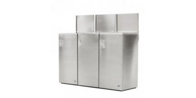 Model CAR-703 - Stainless Steel Recycling Bins
