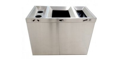 Model CAR-192 - Stainless Steel Recycling Bins