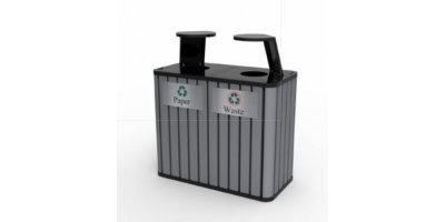 Model CAR-209 - Commercial Waste Receptacle Recycling Bin