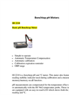 HI 2210 - Basic pH Benchtop Meter – Brochure