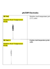 HI 7662 - Stainless Steel Temperature Probe – Brochure
