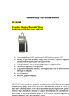 HI 98188 - Graphic Display Portable Meter EC–Resistivity–TDS–NaCl Meter with USP – Brochure