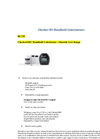 Checker - HI 758 - Handheld Colorimeter – Calcium – Brochure