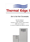A2A - Thermal Edge Air To Air Heat Exchanger Brochure
