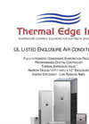 Thermal Edge - Model CS020 - Enclosure Air Conditioner Brochure