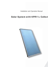 Model KPR11+ - Solar Collector Brochure